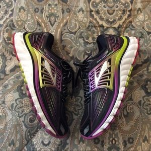 Brooks Glycerin 13 Metallic Wmns Sz 6 Worn 1x Mint